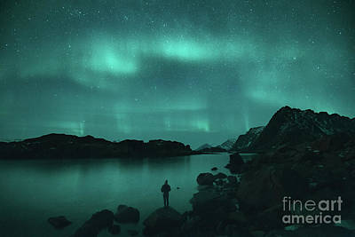 Photograph - The Dancing Lights by JR Photography