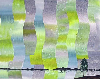 Painting - Aurorae II by Jeni Bate