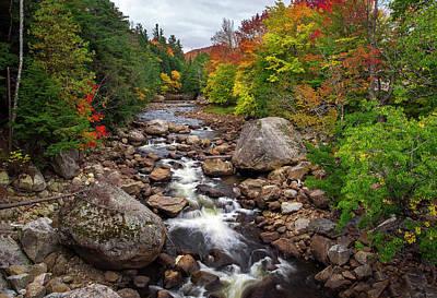 Photograph - Ausable Autumn by Mark Papke