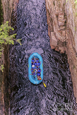 Photograph - Ausable Chasm Rafting by Claudia M Photography
