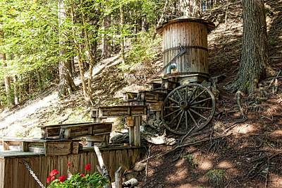 Photograph - Ausable River Mining Company by Keith Swango