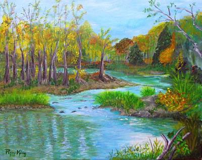 Ausable River Art Print