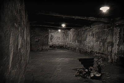Auschwitz Photograph - Auschwitiz - Gas Chamber by Wayne Higgs