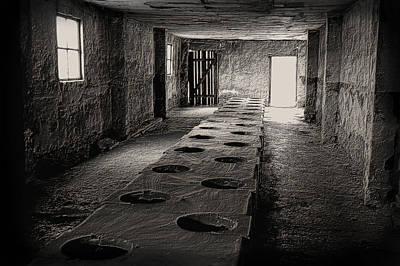 Auschwitz Photograph - Auschwitz-birkenau Toilet by Wayne Higgs