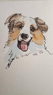 Painting - Aussie 1 by Judy Fischer Walton
