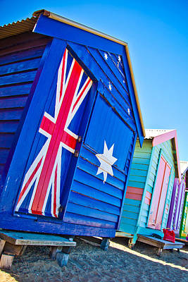 Bathing Photograph - Aussie Beach Shack by Az Jackson