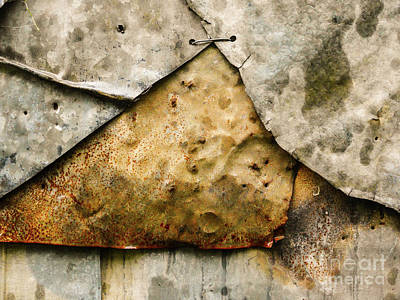 Photograph - Aussie Galvanised Iron #13 by Lexa Harpell