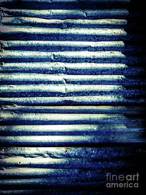 Photograph - Aussie Galvanised Iron #5 by Lexa Harpell