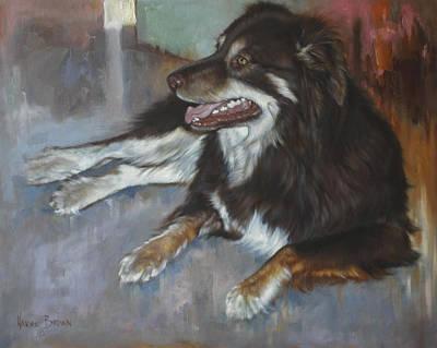 Shepard Painting - Aussie by Harvie Brown