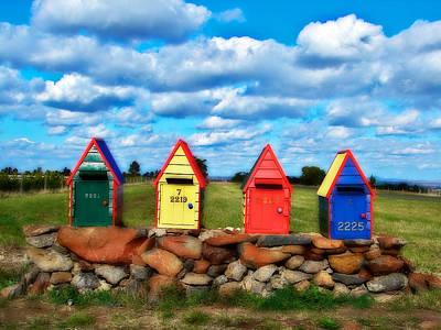 Kathryn Photograph - Aussie Mail Box by Kathryn Potempski