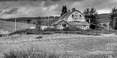 Photograph - Aust Barn by Ansel Price