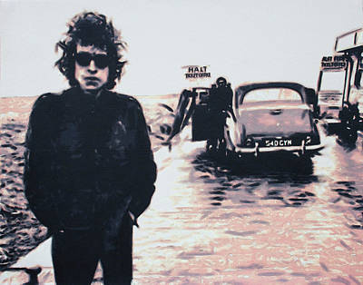 Painting - Aust Ferry 1966 by Hood aka Ludzska