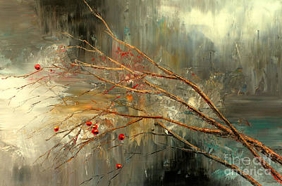 Brunch Painting - Austere by Tatiana Iliina