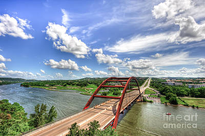 Texas Landscapes Photograph - Austin 360 Bridge by Tod and Cynthia Grubbs