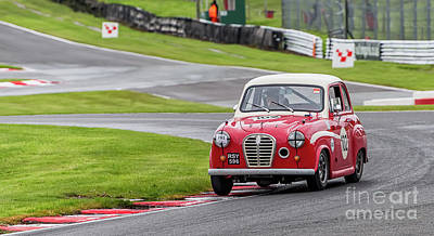 Art Print featuring the photograph Austin A35  by Adrian Evans