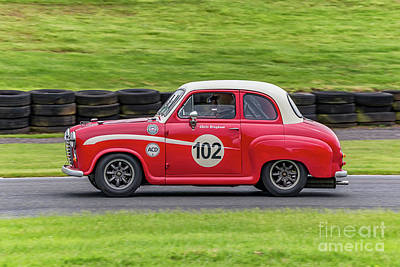Photograph - Austin A35 Classic Car by Adrian Evans