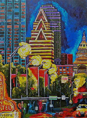 Austin City Limits  - Austin City Lights by Patti Schermerhorn