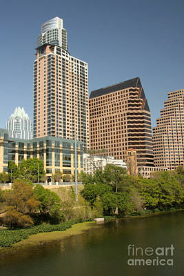 Photograph - Austin Cityscape by Frank Townsley