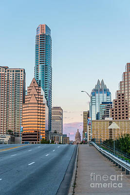Austin Skyline Photograph - Austin Congress View by Tod and Cynthia Grubbs
