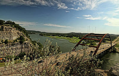 Photograph - Austin Country Club And The 360 Bridge by Judy Vincent