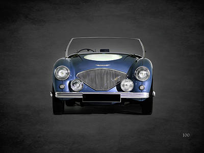 Austin Photograph - Austin Healey 100 by Mark Rogan