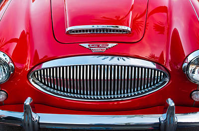 Photograph - Austin-healey 3000mk II by Jill Reger