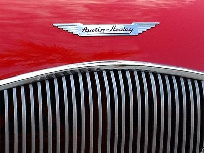 Photograph - Austin-healey by Leigh Meredith