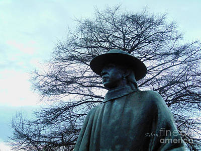 Austin Hike And Bike Trail - Iconic Austin Statue Stevie Ray Vaughn - Two Art Print