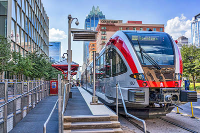 Austin Photograph - Austin Rail by Tod and Cynthia Grubbs