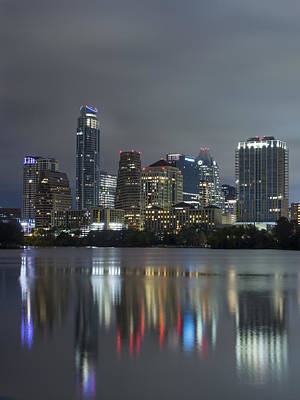 Photograph - Austin Reflections by Van Sutherland