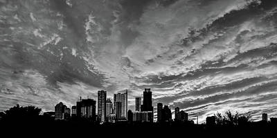 Photograph - Austin Skyline by Scott Cordell