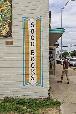 Photograph - Austin - Soco Books by Allen Sheffield