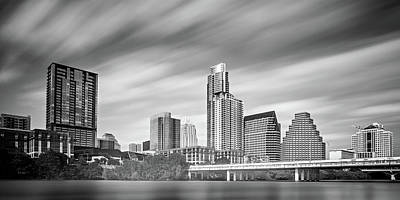 Photograph - Austin Texas Downtown Skyline Across Colorado River by Alex Grichenko