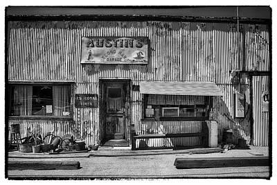 Photograph - Austin's Garage by Hugh Smith