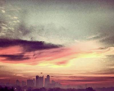 Painting - Austins Sunrise by Austin Baggett