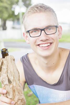 Drinker Photograph - Australia Day Park Celebration by Jorgo Photography - Wall Art Gallery