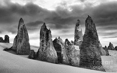 Photograph - Australia Nambung Desert 4 by Bob Christopher