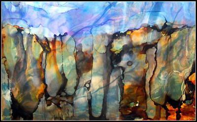 Wall Art - Mixed Media - Australia Outback by Linda Bartlett