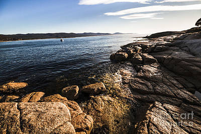 Photograph - Australian Bay In Eastern Tasmania by Jorgo Photography - Wall Art Gallery