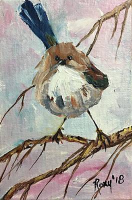 Australian Blue Wren Original