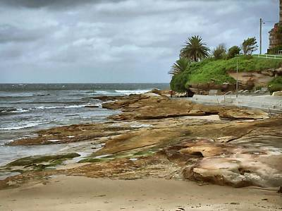 Brown Photograph - Australian Coast by Sandy Taylor
