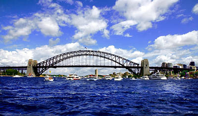 Photograph - Australian Day Is A Party Day On Sydney Harbour  by Miroslava Jurcik
