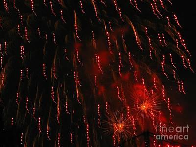 Photograph - Australian Fireworks In Montreal 03 by Ausra Huntington nee Paulauskaite