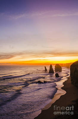 Orange Sun Photograph - Australian Landmarks by Jorgo Photography - Wall Art Gallery