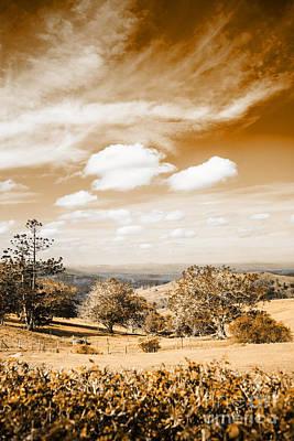 Australian Landscape Photo Of Maleny Hinterland Print by Jorgo Photography - Wall Art Gallery