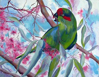 Painting - Australian Lorikeet by Lisa Boyd