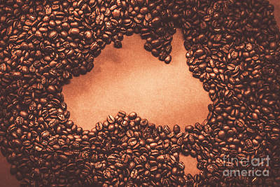 Australian Made Coffee Art Print by Jorgo Photography - Wall Art Gallery