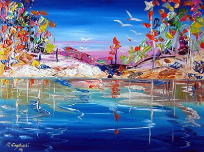 Painting - Australian Outback by Roberto Gagliardi
