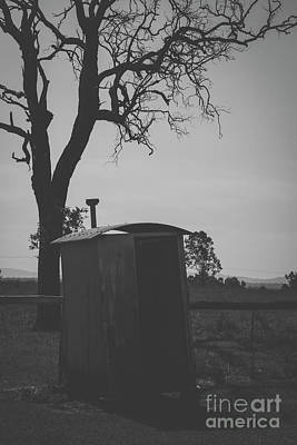 Photograph - Australian Outhouse by Rob D