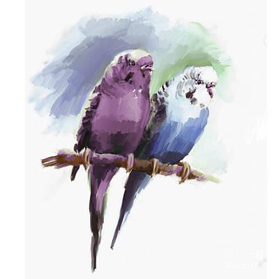 Painting - Australian Parrot by Gull G